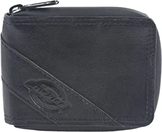 Dickies Mens Wallet, Card Case & Money Organizer, Black, 12 31DI1308
