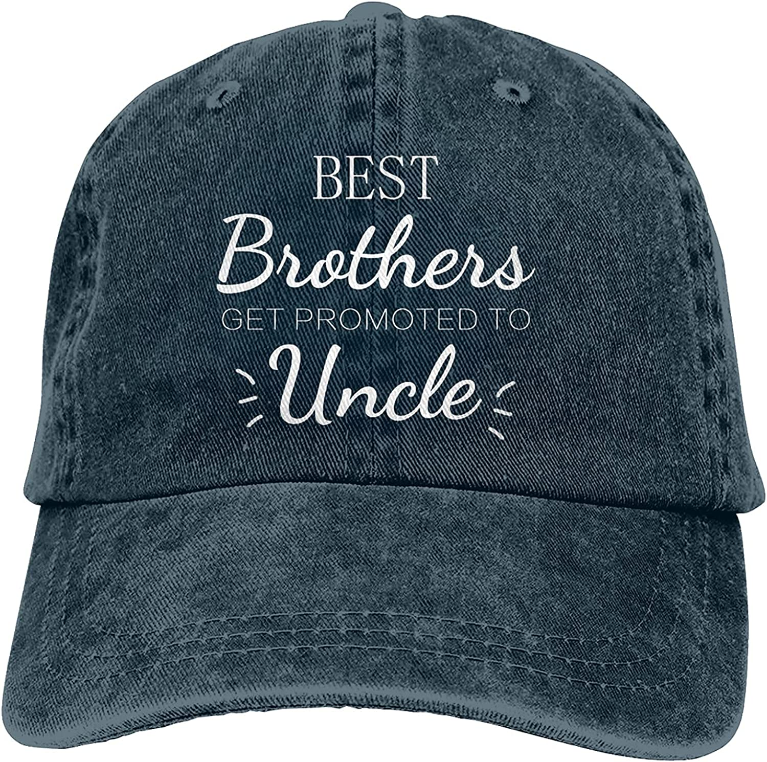 Best Brothers Get Promoted to Uncle Baseball Ret Cap Hat Max Max 55% OFF 80% OFF Trucker
