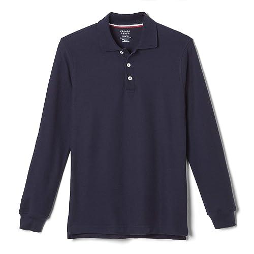 Girls School Shirts Blouse Short Sleeve White Sky BlueChild and Adult Sizes