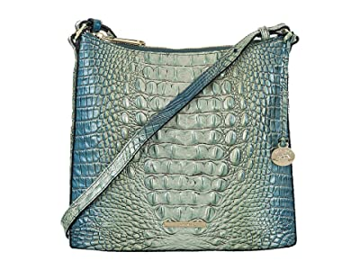 Brahmin Ombre Melbourne Katie Crossbody (Haven) Handbags