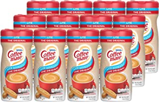Nestle Coffee mate Coffee Creamer, Original Lite, Powder Creamer, 11 Ounces (Pack of 12)