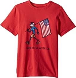 Crusher God Bless America Tee (Little Kids/Big Kids)