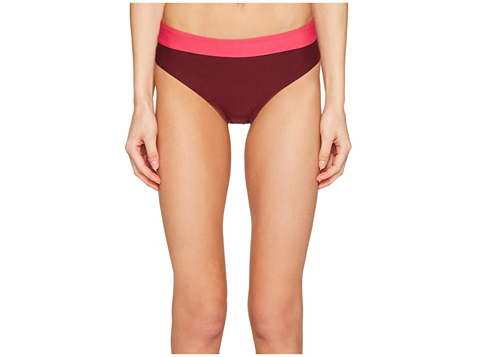 Kate Spade New York Carmel Beach #60 Hipster Bikini Bottom (Tagine Pink) Women