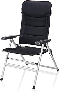comprar comparacion Silla de camping Campart Travel CH-0652 – Acolchada – Tejido de malla - Azul oscuro