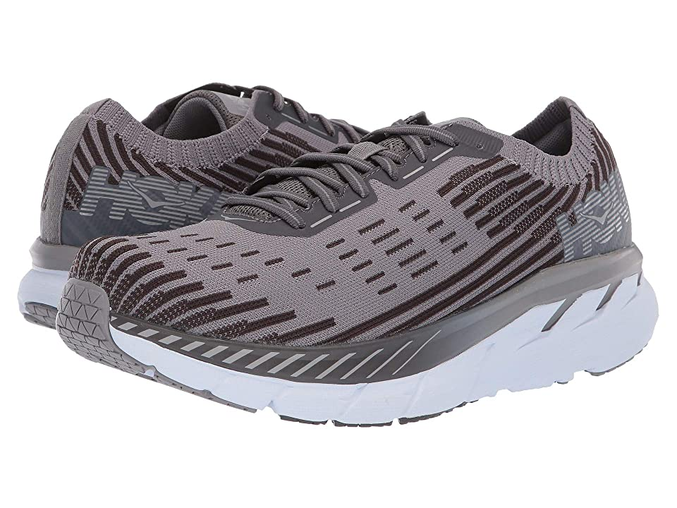 Hoka One One Clifton 5 Knit (Frost Gray/Pavement) Men