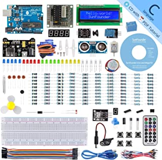 SunFounder Uno R3 Project Complete Starter Kit Compatible with Arduino IDE,25 Tutorials Included