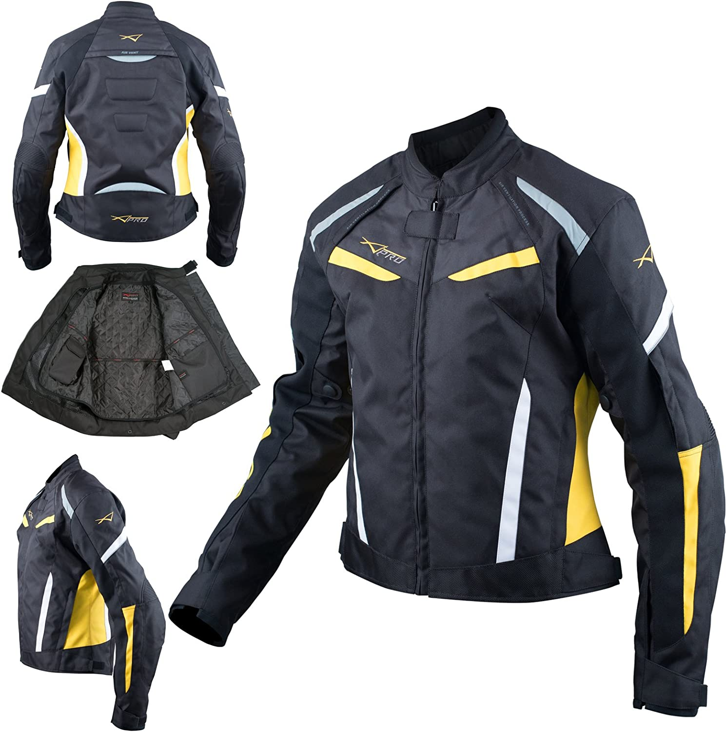 Motorcycle Ladies Strong Textile Jacket Touri Armor Brand new Today's only Motorbike CE