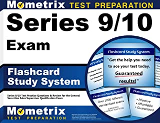 Series 9/10 Exam Flashcard Study System: Series 9/10 Test Practice Questions & Review for the General Securities Sales Supervisor Qualification Exam (Cards)