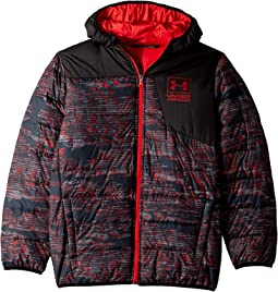 Print Swarmdown Hooded Jacket (Big Kids)
