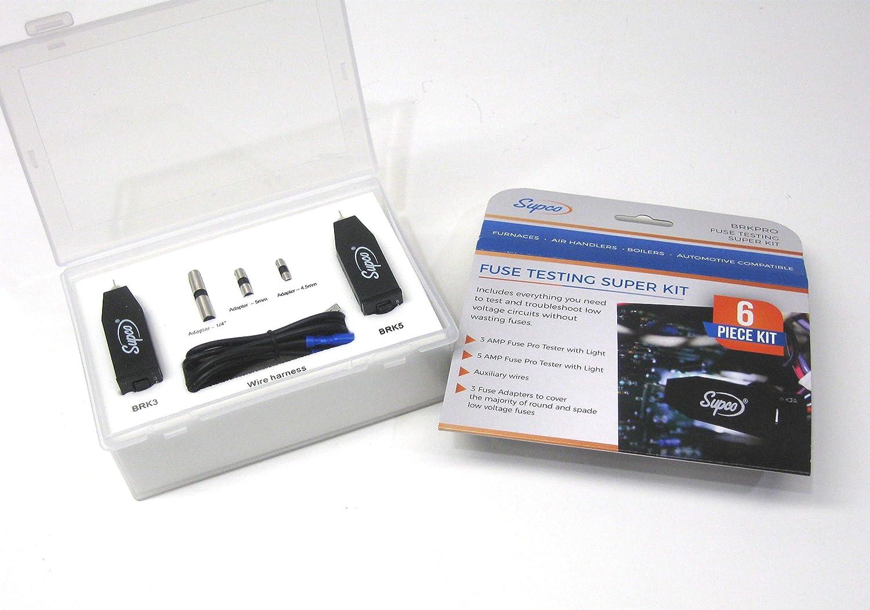 商品追加値下げ在庫復活 Supco Fuse Testing Kit H 2in マート 1 2