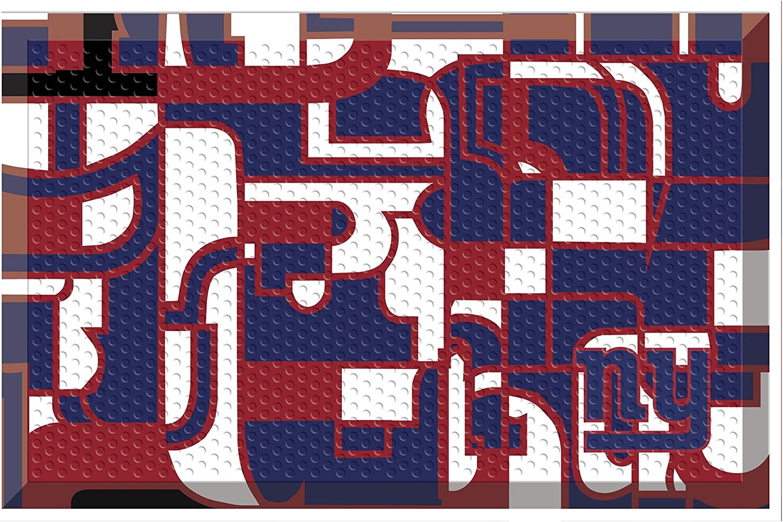 FANMATS NFL New York Ranking TOP15 Giants NFL-New Giantsscraper Cheap Mat Team Colo