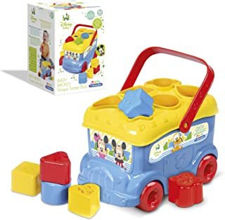 Clementoni – 14395 – Le bus des formes de Mickey – Disney – Premier age