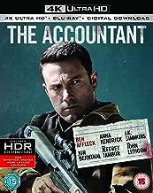 The Accountant [4k UHD Blu-ray + Blu-ray]