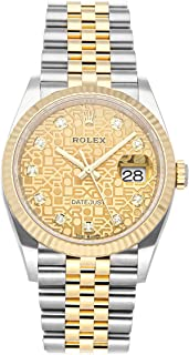 Datejust Mechanical (Automatic) Champagne Dial Mens Watch 126233 (Certified Pre-Owned)