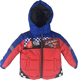 Little Boys Toddler Cars Puffer Jacket