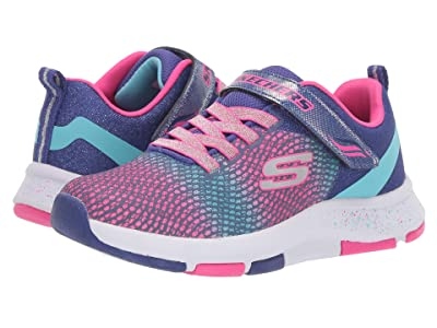 SKECHERS KIDS Trainer Lite 2.0 81401L (Little Kid/Big Kid) (Blue/Multi) Girls Shoes