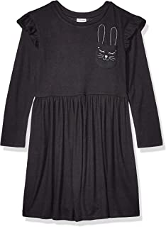 Amazon Brand - Spotted Zebra Girl's Toddler & Kids Cozy Knit Dress