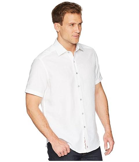 Graham tejida corta blanca camiseta manga Robert Cyprus de fqx6Awd1