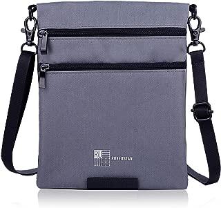 [ルビウスタン]RUBEUSTAN パスポートケース カバー 首下げ スキミング防止 セキュリティ ポーチ ショルダー
