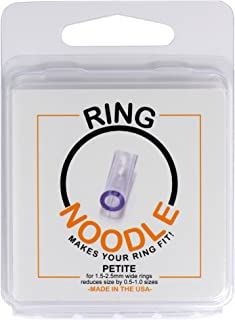 RING NOODLE: Ring Size Reducer   Ring Guard   Ring Size Adjuster. Size: Petite, for rings 1.5-2.5 mm wide.
