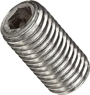 Hex Socket Drive Plain Finish 3//16 Length Meets ASME B18.3//ASTM F912 Pack of 100 Alloy Steel Set Screw #8-32 Threads Dog Point
