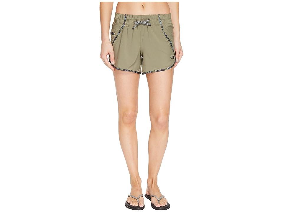 The North Face Class V Shorts (Deep Lichen Green (Prior Season)) Women