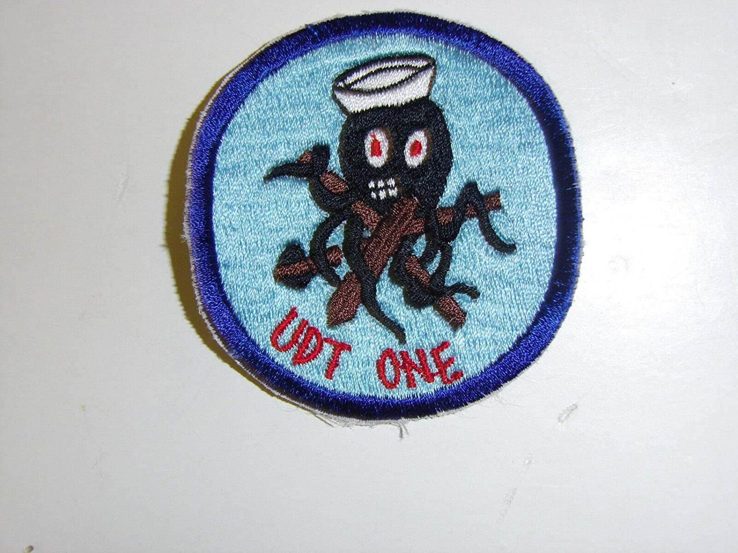 Vintage Reproduction b0109 WW2 excellence Korea Sales of SALE items from new works US One IR33G Navy Patch UDT