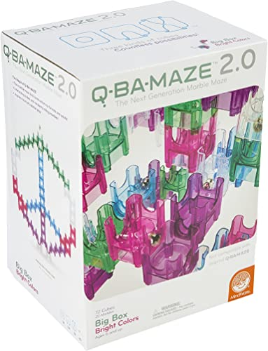 Q-Ba-Maze 2.0 Big Box Bright Farbes Game by MindWare