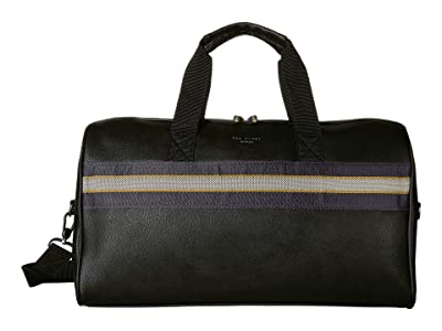 Ted Baker Ceviche Webbing Holdall (Black) Duffel Bags