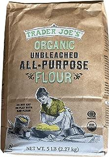 Trader Joe's Organic Unbleached All-Purpose Flour - 5lb (2.27 kg)