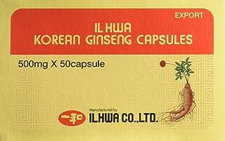 Il Hwa. Ginseng Coreano. 500 mg x 50 capsulas