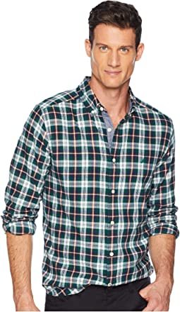 Long Sleeve Casual Brushed Twill Woven Shirt