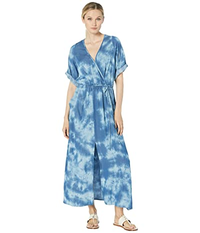 Karen Kane Cuffed Sleeve Dress (Tie-Dye) Women