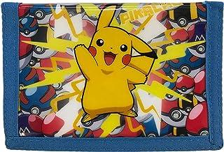 Pokémon Pikachu – Flash Strike ! – Portefeuille 3 volets pour pièces de monnaie et cartes