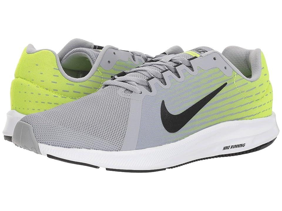 Nike Downshifter 8 (Wolf Grey/Black/Volt/White) Men