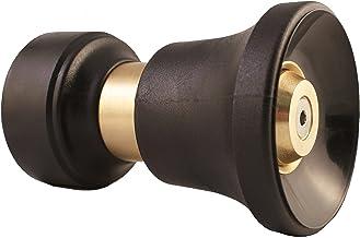 Dradco Heavy Duty Brass Fireman Style Hose Nozzle - Fits All Standard Garden Hoses - Best High Pressure Sprayer to Wash Yo...
