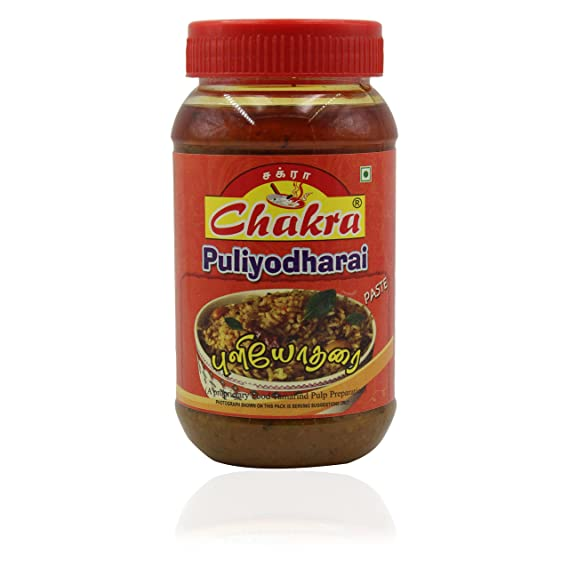 Chakra Puliyodharai Paste, 300 g (Pack of 6)