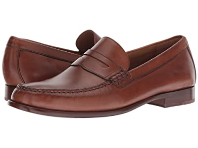 Cole Haan Handsewn Penny Loafer (British Tan Handstain) Men
