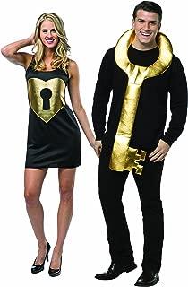 Rasta Imposta Key To My Heart Lock and Key Couples Costume