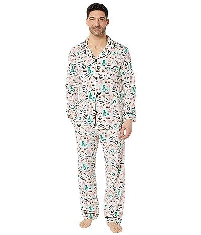 BedHead Pajamas Long Sleeve Classic Pajama Set (Sushi) Men