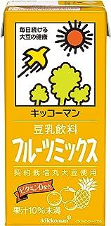 キッコーマン 豆乳飲料 フルーツミックス 1000ml ×6本