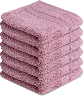 Small Pink Hand//Guest Towels  40cms x 60cms