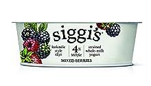 Siggi's Icelandic Milk and Skyr Whole Milk Yoghurt, Mixed Berries, 4.4 oz