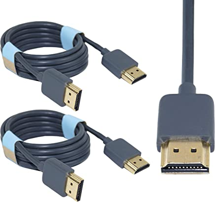 Storite 2 Pack 1.5M High Speed HDMI Cable Male to Male Cable for LED/LCD TV, PC Monitor, Setup Box