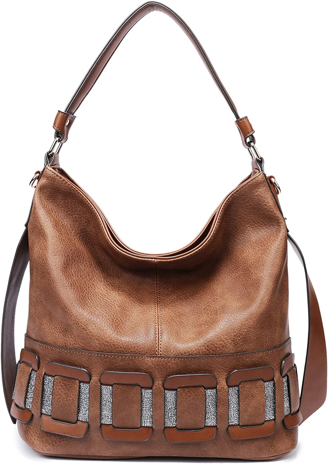 Leather Hobo Handbag Women Large New Designer Shouder Totes, Soye Tophandle Bag