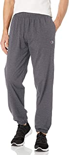 Champion Men's Closed Bottom Light Weight Jersey Jogger