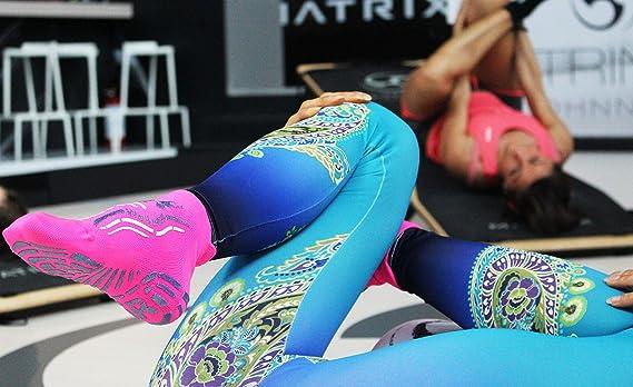 R-Evenge - Calcetín deportivo técnico para todas las actividades en el gimnasio, pilates, yoga, gimnasia postural, trx, crossfit, calistagenis, ...