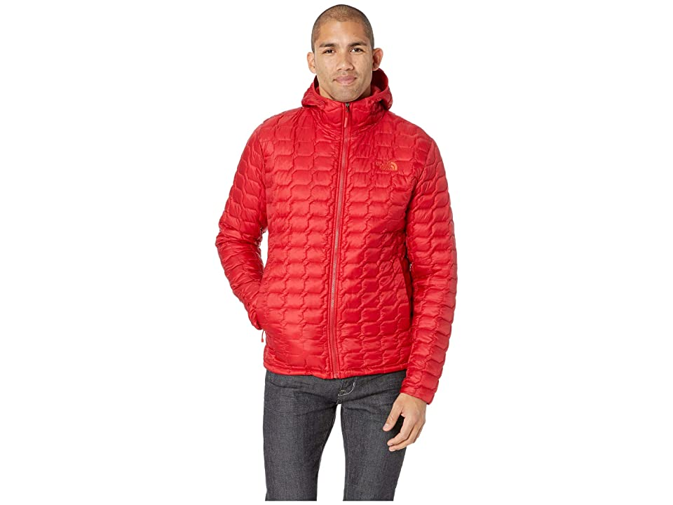 The North Face Thermoball Hoodie (Rage Red) Men