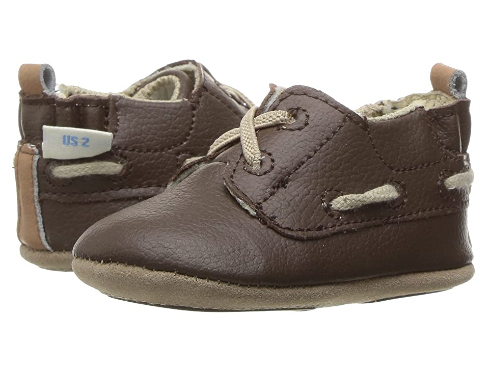 Robeez Jon Loafer Mini Shoez (Infant/Toddler) (Taupe) Boy