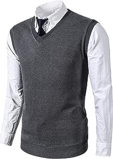 Best casual grey vest Reviews